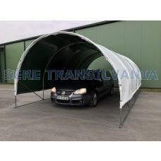 Carport 4x6m sátorgarázs - fóliafedéssel