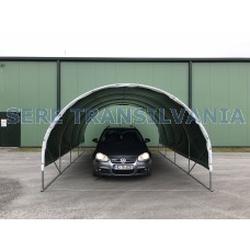 Carport 3x4,5m sátorgarázs - fóliafedéssel